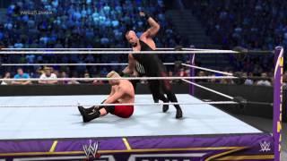 WWE 2K15 PS4 Undertaker vs Brock Lesnar