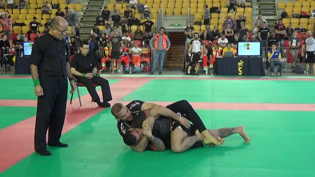 Lucio Lagarto VS Eduardo Teta - IBJJF Europeans NoGi 2016 - Absolute Finals