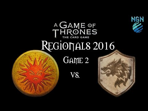 A Game of Thrones 2nd Edition | Maritime Regionals - Game 2: Martell/Wolf vs Stark/Lion