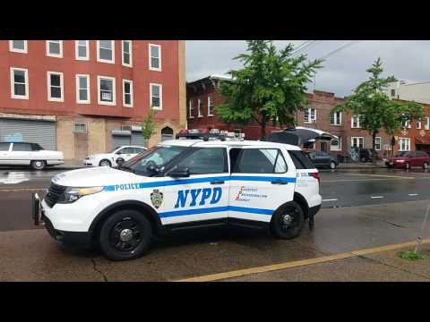 NYPD Highway District Collision Investigation Squad (CIS) On Scene Of A Fatal Accident