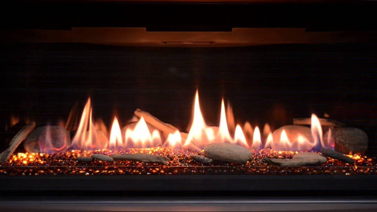 Kozy Heat Slayton 36 Burn Video  YouTube