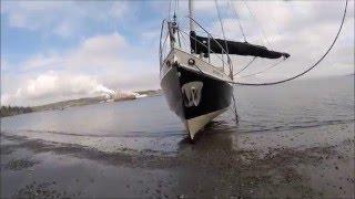 Hull Scrubbing with Beaching Leg
