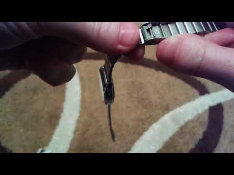 Casio how to adjust watch band length