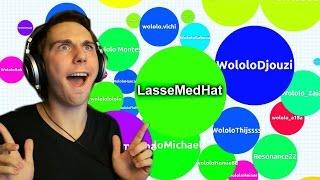 LMH er SYG! | Lasse spiller Agar.io