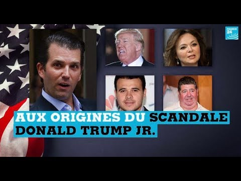Etats-Unis : Aux Origines Du Scandale Donald Trump Jr.
