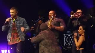 """Filthy & Midnight Summer Jam"" Justin Timberlake@Prudential Center Newark, NJ 3/25/18"