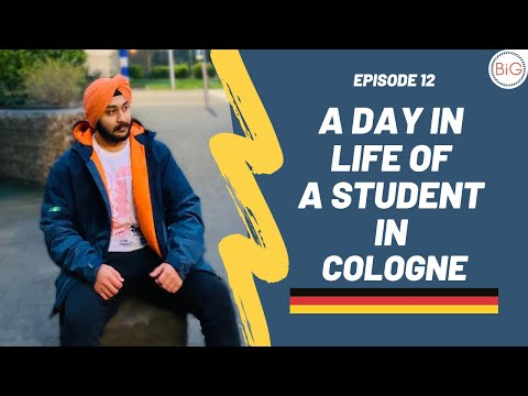 Last Episode: A Day in Life of a Student in Cologne: Living as a Sikh in Germany   Episode 12 🇩🇪
