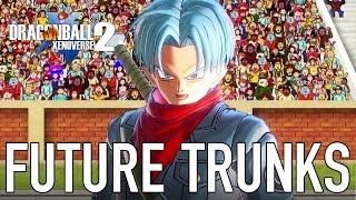 Dragon Ball Xenoverse 2 - PC/PS4/XB1 - Future Trunks (Gameplay)