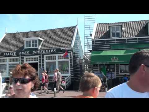 Volendam, Holland Vacation  - A Dutch Fishing Village.