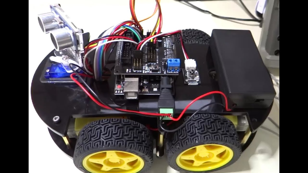 Elegoo Smart Robot Car kit 01 Getting Started - YouTube