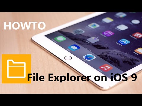 How to: File explorer on iOS (iPad and iPhone) without jailbreak (free) (2016)