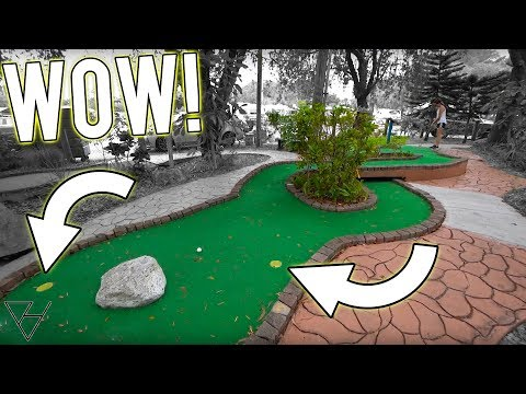 This Mini Golf Course Completely SURPRISED US!