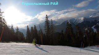 Архыз горнолыжный рай Детская спортивная горнолыжная школа Лиски на горнолыжном курорте Архыз