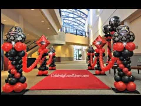 good casino party decorating ideas - Casino Party Decorations