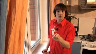 Как заменить ручку на пластиковом окне / ремонт ручки пластикового окна(Пластиковые окна иногда комплектуют дешевыми и не очень прочными пластмассовыми ручками. И если вы немного..., 2015-06-04T14:45:35.000Z)