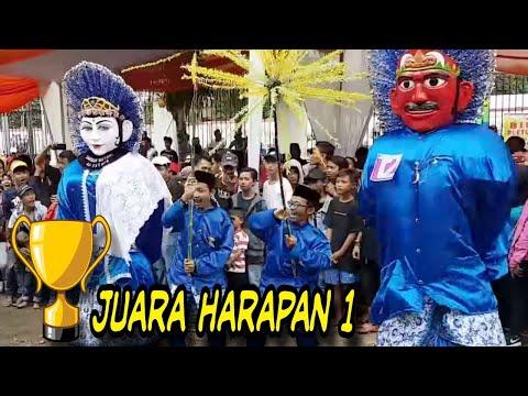 Ondel ondel JUARA Harapan 1 ☆Sanggar AL-FATHIR☆ Festival Gerbang Betawi.