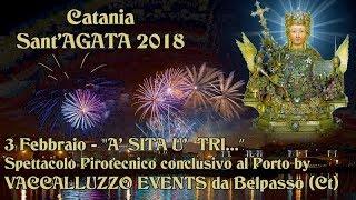CATANIA - SANT'AGATA V.M. 2018 - VACCALLUZZO EVENTS (Notturno)