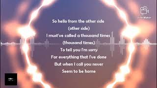 Adele _ Hello _ lyrics