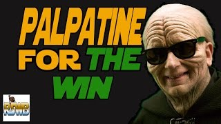 How I react to such victories /Palpatine for the win/ Star Wars Battlefront