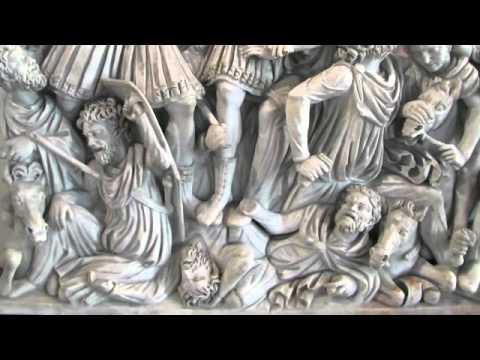 07   Ancient Rome   25   Ludovisi Battle Sarcophagus