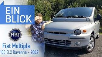 """Fiat Multipla 100 ELX 2002 - Was steckt wirklich im """"hässlichsten Auto""""? Vorstellung & Test"""