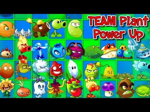 Plants vs. Zombies 2 New TEAM PLANT POWER UP vs Zombies