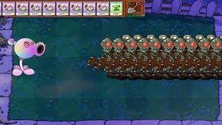 Plants vs Zombies - Pea Hypno-shroom  vs Gargantuar