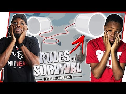 GHETTO COMMUNICATION SYSTEM WITH ANNOYING LITTLE BROTHER! | Rules Of Survival Android Gameplay