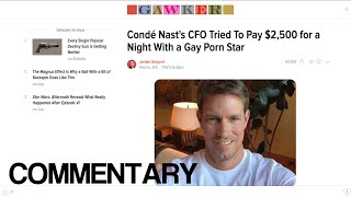 CFO of Conde Nast Outed By Gawker (Video Reaction)