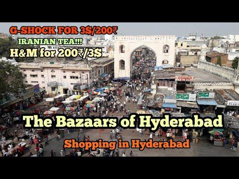 The bazaars of Hyderabad   Shopping in Hyderabad    Laad Bazaar and Begum  Bazaar