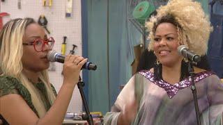Talita e Deise Cipriano Fat family cantam