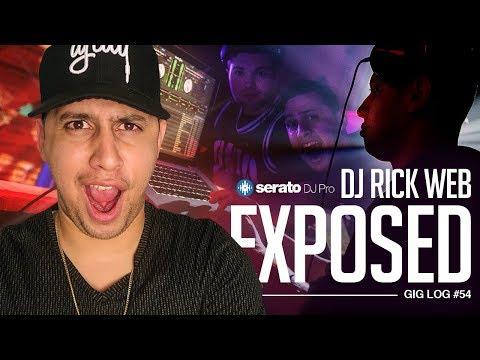 DJ GIG LOG: Exposing DJ Rick Web | Trying Serato DJ PRO
