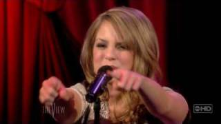 """JoJo - Interview & performance of """"Too little, too late"""" (Live at The View)"""