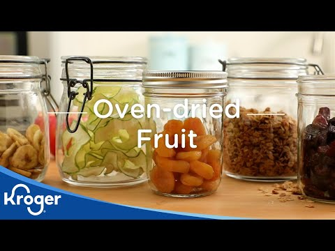 Oven-Dried Fruit | DIY & How To | Kroger