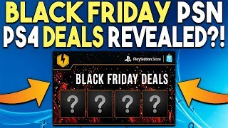 Black Friday PSN Store Sale Deals Revealed!? Awesome PS4 Deals to Expect!