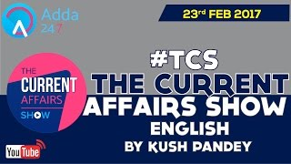 CA PRIMETIME Current Affairs of 23rd Feb in (ENGLISH)