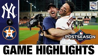 Jose Altuve's Walk-off Hr Sends Astros To World Series In Game 6!   Yankees-astros Mlb Highlights