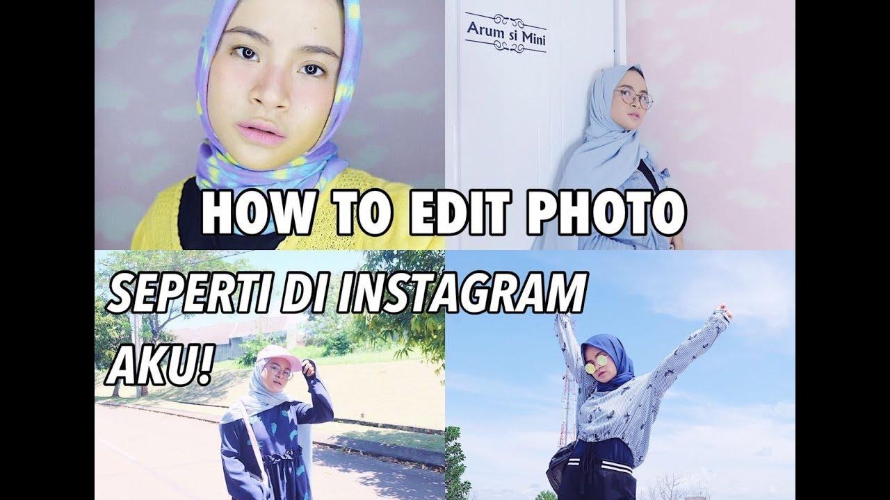 Cara Edit Foto Pakai Handphone Ala Selebgram Di Vsco Versi Si Mini