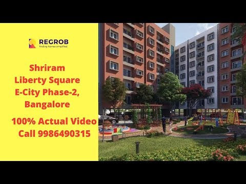 Shriram Liberty Square Electronic city phase 2 Bangalore  | Sales- 8448496407 | Actual Video