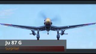 World of Warplanes | Ju 87 G | Surprise! | Tier V | Attack Aircraft