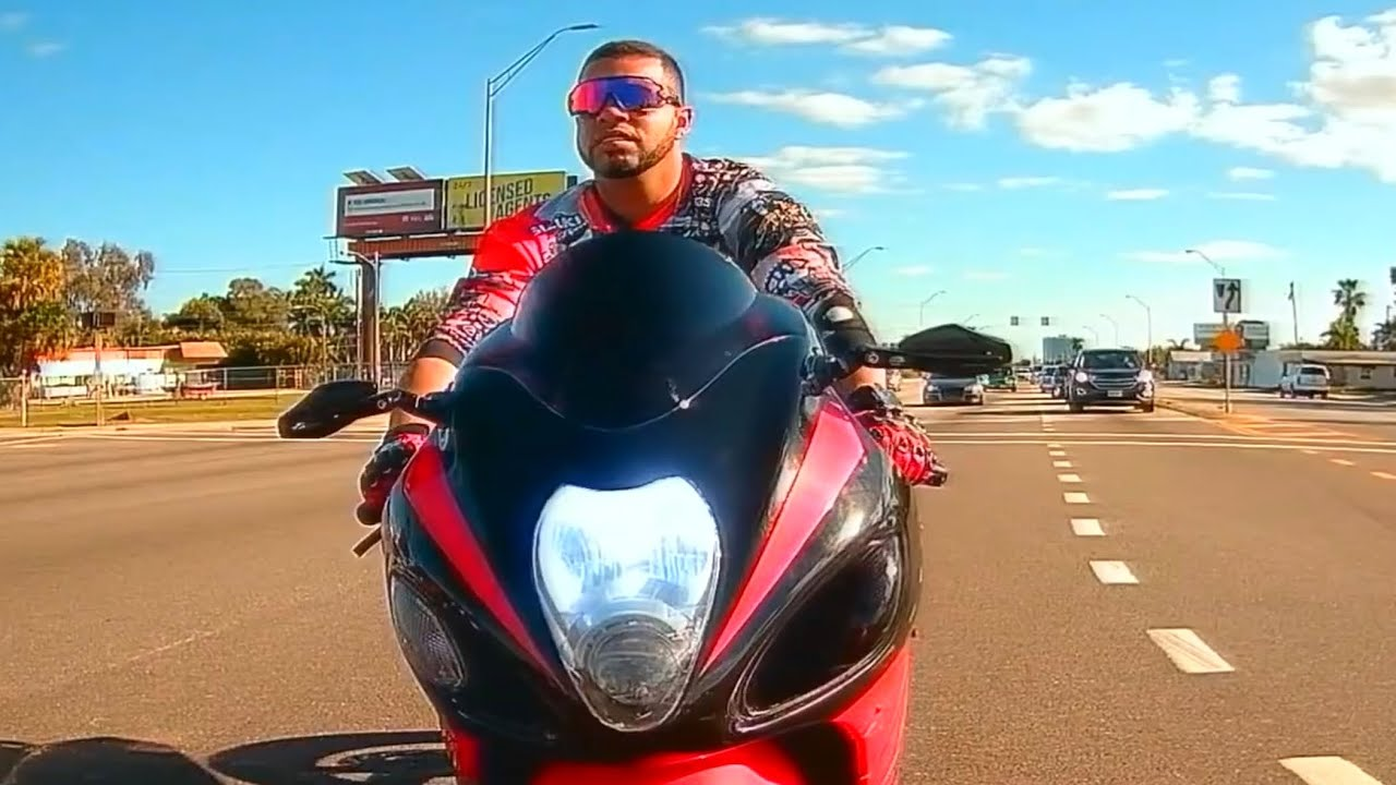 ROAD RAGE IN AMERICA 2021 USA, CANADA #80 | Bikers Road Rage in North Fort Myers