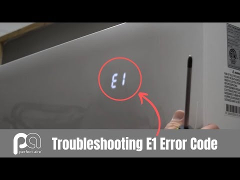 Troubleshooting an E1 Error Code on a Mini Split — Perfect Aire