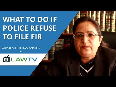 Indian Kanoon - What to do if police refuses to file FIR - LawRato