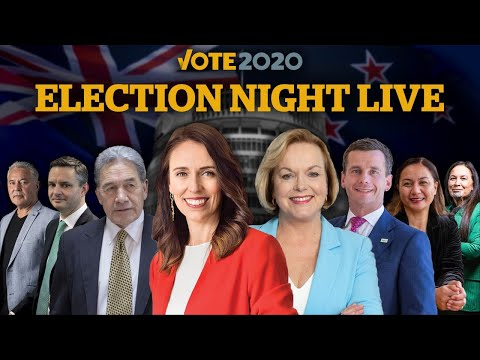 Vote 2020: Election Night Live with NZ Herald and Newstalk ZB