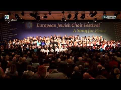 EUROPEAN JEWISH CHOIR FESTIVAL Vienna 2013 (Live) - Video Trailer (new)
