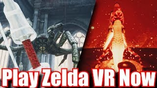 Zelda VR Is Amazing & Zelda Unreal Engine 4 Explained