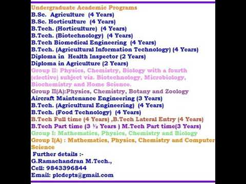 After 12th Pass , Diploma in Health Inspector vs Diploma in Agriculture , Tamilnadu, India