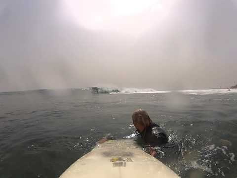 Solid 3 ft. 14 sec. south swell hit the coast of Dakar - Senegal - West Africa. The wave in front of the old Club Med was working just perfect and everyone had fun. 16. of March 2012. Riders: Gus Trasher, Moritz and me.  Uploaded by http://www.gosurf.dk