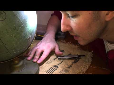 How I Repaired A Dusty Antique Globe I Found on the Street.