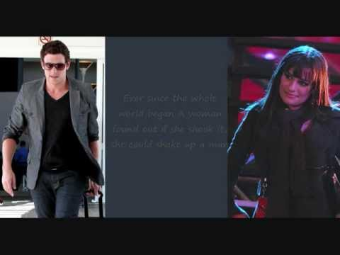 Glee Cast - You can't stop the beat (lyrics)